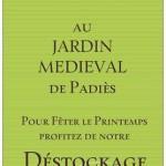 Padiès : Déstockage de pépinière au jardin médiéval