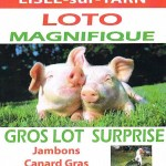 Lisle-sur-Tarn : Loto du Football Club lislois section Loisirs