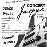 Parisot : Paquita met sa doudoune, Jaipur en concert