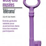 Culture : Week-end musées Télérama 2013