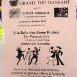 Lisle-sur-Tarn : Thé dansant avec Christ Vincenti