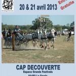 Le Garric : 8ème concours national d'attelage à Cap Découverte