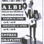 Albi : Bourse aux disques vinyl, cd, dvd & BD à Pratgraussals