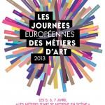 Culture : Journées Européennes des Métiers d'Art 2013