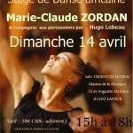 Lavaur : Stage de danse africaine avec Marie-Claude Zordan