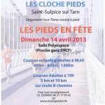 Saint Sulpice : Les pieds en fête