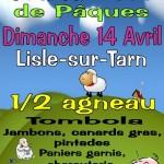 Lisle-sur-Tarn : Grand Loto de Pâques de l'ecole du Sacré Coeur