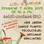 Saint-Urcisse : 4èmes Vies de Jardin, édition de Printemps