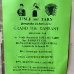 Lisle-sur-Tarn : Thé dansant au pôle des Ainés Ruraux
