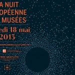 Culture : Nuit européenne des Musées 2013