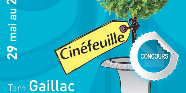 Gagnez des places pour le festival Cinfeuille 2013  Gaillac - Concours DTT