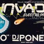 Le Garric : Invaders Electro Party, Musiques électroniques à Cap Découverte / Concours DTT