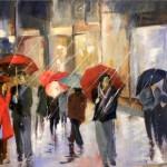 Lautrec : Mathilde Dalgans expose aux Couleurs de Cocagne