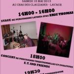 Lavaur : La folle journée des percussions avec Tougoudoum