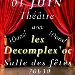Lisle-sur-Tarn : Les Decomplex'oc, 10 ans de scène