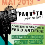 Parisot : 10ème édition du Festival Paquita Part en Live !