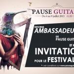Albi : Pause Guitare lance l'opération Street team 2013