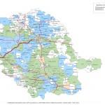 Réforme des rythmes à l'école primaire, cartographie du Tarn / © Ministère de l'éducation nationale