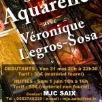 Saix : Stages d'aquarelle avec Véronique Legros-Sosa à la MJC