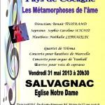 Salvagnac : Concert classique en l'Eglise Notre-Dame