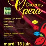 Albi : Choeur d'Opéra, le CMDT au Théâtre Municipal