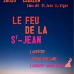 Cadalen : Feu de la Saint Jean et fête de la Musique