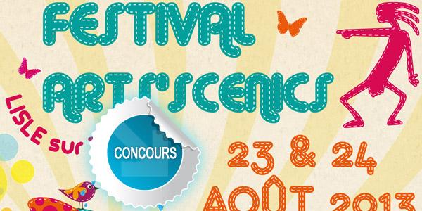 Gagnez des PASS pour le festival Les Arts'Scénics 2013 - Concours DTT