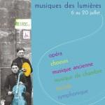 Culture : Festival Musiques des Lumières, des concerts exceptionnels dans un lieu chargé d'histoire