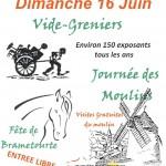 Lautrec : Fête de Brametourte, Journée des Moulins et vide-greniers