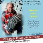 Lisle-sur-Tarn : Le Bandonéon, animation musicale avec Bernard Alquier au Musée Raymond Lafage