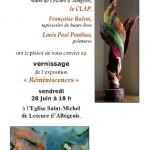 Lescure-d'Albigeois : Réminiscences, exposition à l'Eglise Saint Michel