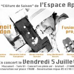 Mazamet : Fusion jazz project, Benoit Mardon en concert