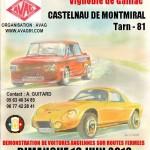 Castelnau-de-Montmiral : Montée du cap de l'homme 2013