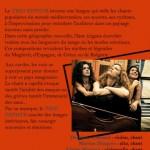 Rabastens : Trio Zephyr, concert de chansons et cordes à La Halle