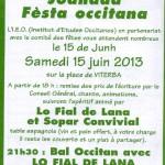 Viterbe : Fête occitane sur la place du village