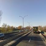 Albi : Finition de travaux sur le pont de Cantepau sur la RN 88