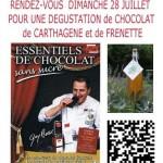 Les Cammazes : Dégustation de chocolat, carthagene et frênette