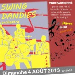 Lisle-sur-Tarn : Concert de Jazz avec «Swing Dandies Orchestra»