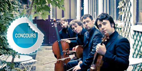 Gagnez des places pour le grand concert avec le Quatuor Léonis et Anne-Emmanuel Davy au Festival Musique sur Ciel 2013 - Concours DTT