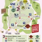 Festival L'été de Vaour 2013, Plan du site