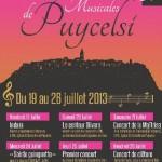 Puycelsi : 8ème édition des Dégustations Musicales de Puycelsi