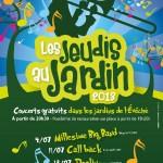 Lavaur : Millésime Big band dans les Jardins de l'Evêché