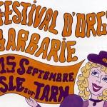 Lisle-sur-Tarn : Festival d'orgues de Barbarie 2013