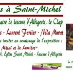 Lescure-d'Albigeois : Exposition De métal et de lumière