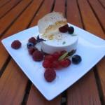 L'Oeuf de Coq - Cheese cake aux fruits rouges
