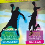 Gaillac : Challenge handball Tarn & Dadou – Filles