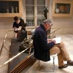 Gaillac : Croquis en famille au Musée des beaux-arts