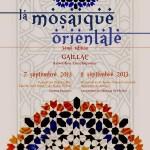 Gaillac : La Mosaïque orientale 2013