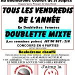 Saint Sulpice : Pétanque, régional Triplette au Boulodome de Molétrincade