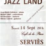 Serviès : Concert de jazz au Café de la place
